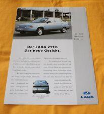 Lada 2110 2111 2112 Prospekt Brochure Depliant Catalogue 1995 Avtovaz