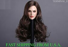 1/6 American Female Head Sculpt C For Hot Toys Phicen Female Figure ❶USA❶