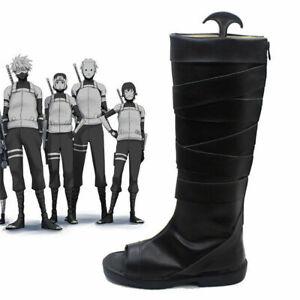 N aruto Neenya anbu Kakashi Ninja Leather Shoes N aruto Carnival Cosplay Boots
