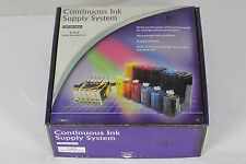 Epson CX3200 (T40/41) Brand New CISS System Cartridges 100ml Prefilled
