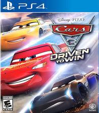 Cars 3: Driven to Win PS4 New PlayStation 4, PlayStation 4