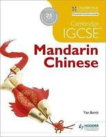 Cambridge IGCSE Mandarin Chinese by Burch, Yan (Paperback book, 2017)