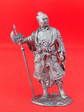 Chinese military chief Tin Figurine 54 mm MINIATURE SOLDIER TOY FIGURE