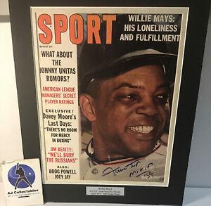 Willie Mays autographed vintage magazine no coa hof Giants