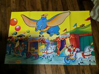 "Dumbo Flying Elephant French Movie Poster 32"" x 22"" 2 Sided Le Journal De Mickey"
