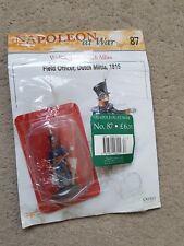 *Damaged* Del Prado Napoleon at War 87 Field Officer, Dutch Militia 1815