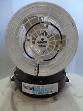 """Schaefer VS-2 Versa-Kool Mist Fan Fire Safty 12"""" Electric Cooling Outdoor Mistin"""