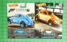 """2020 Hot Wheels - Forza / Car Culture -  Volkswagen """"Classic Bug""""  - Lot of 2"""