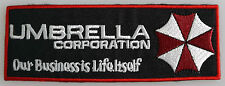 Resident Evil  -  Umbrella Corporation Logo - Our Business.. Uniform Patch neu
