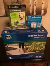 PetSafe Free to Roam Wireless Fence Train Pet Containment PIF00-15001w/ *EXTRAS*