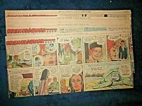"1970-29 WEEKS ""BRENDA STARR REPORTER"" SUNDAY CHICAGO TRIBUNE COMIC STRIPS"