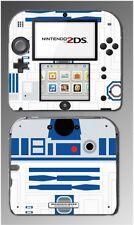 Star Wars R2-D2 r2d2 Luke Skywalker Robot Video Game Skin Cover Nintendo 2DS