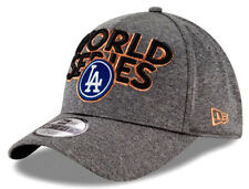 New Era Los Ángeles Dodgers Mundo Serie Ajuste Flexible un tamaño de Tapa Gris