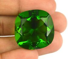 Cushion Cut Olive Green Peridot 61.05 Ct Brazilian Gemstone AGI Certified H7918