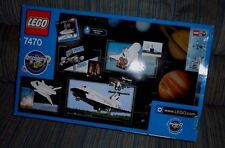Lego 7470 Discovery Space Shuttle NASA -with  2 Manuals w/Cool Facts