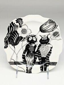 Florence Balducci Plate Owls