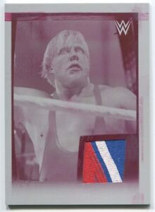 Jack Swagger 2015 Topps WWE Road to WrestleMania Patch Relic Printing Plate 1/1