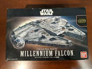 Bandai 1/144 Star Wars Millennium Falcon - with 3D extras - Read Description