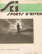 Ski Sport d'Hiver n°25 - 1934 - De Davos à l'Engadine - Léon Swingelstein -