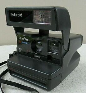 Polaroid One Step Close Up 600 Film Instant Camera Tested Works