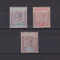 NORTHERN NIGERIA 1900, SG# 1-4, CV £28, part set, MH