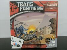 Transformers 70 Piece Puzzle Hasbro 2007 Includes Stickers - Sealed!