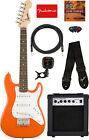 Fender Squier Mini Strat Electric Guitar - Competition Orange w/ Amplifier for sale