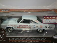 1/18 HWY61 1967 DODGE HEMI CORONET R/T SHIRLEY SHAHAN DRAG ON LADY WHITE