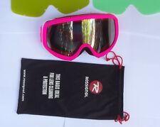 ROSSIGNOL Women Ski Goggles Double Antifog Lens Hero Pink