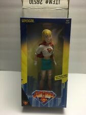 "SUPERGIRL 12"" Figure 1999 SUPERMAN ANIMATED SERIES w/ Original Boxes Hasbro"