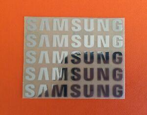 5 pcs Sticker Logo for SAMSUNG TV PlayStation Game Laptop Desktop 30mm x 6mm