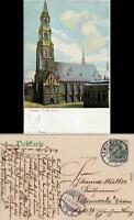Zwickau Partie an der Marienkirche Ansichtskarte 1906