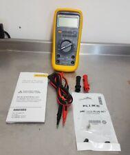 FLUKE 27 II / EUR IP67 Industrial Digital Multimeter 20000 Count RMS 3.5 Digit V