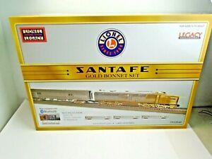 """O Scale Lionel #1922040 Legacy Rail Sounds """"Santa Fe"""" Gold Bonnet Set"""