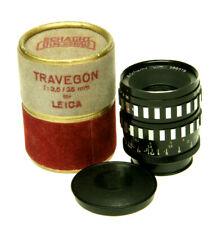 Schacht Ulm Travegon 3,5/35mm R #388319 für Leica  M39--Leica-- OVP----