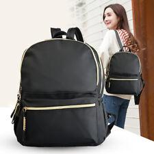 Women's Casual School Waterproof Shoulder Bag Student Leisure Zipper Backpack