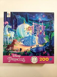 Ceaco Disney Princess: CINDERELLA 200 pcs Puzzle Made in USA - BRAND NEW SEALED