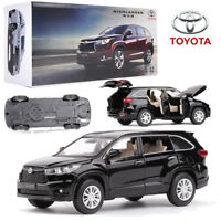 1:32 Licensed Toyota Kluger SUV Highlander Model Diecast Vehicle Car Playset Toy