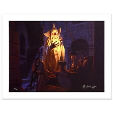 "Brothers Hildebrandt! ""Saruman And The Palantir"" Ltd Ed Giclee on Canvas"