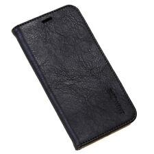 Echt Leder Cover für Apple iPhone XS Smartphone Case Tasche Schutz Hülle schwarz