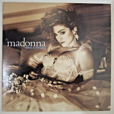 MADONNA LIKE A VIRGIN VNTG 1984 FIRST PRESS UPSIDE-DOWN REAR COVER MINT VINYL LP