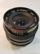 Macro Cct 1:28 MC CPC AUTO 28mm No 905240 Lens camera