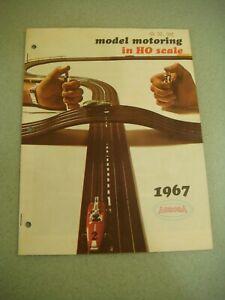 1967 Model Motoring in HO Aurora catalog