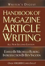 Handbook of Magazine Article Writing (2004, Paperback, Revised)