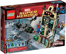 LEGO 76005 Marvel Super Heroes Spider-Man Daily Bugle Showdown -Brand New Sealed