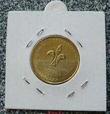 2008 CENTENARY OF SCOUTING ONE DOLLAR UNCIRCULATED COIN.