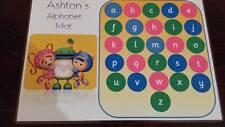 TEAM UMIZOOMI - PERSONALISED - LEARN YOUR  ALPHABET MAT/POSTER - EYFS