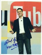 Robert Kyncl Signed Autograph 8x10 Photo Chief Business Officer YouTube COA VD