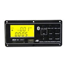 Dc12V Mp3 Bluetooth Decoder Board Audio Module Usb Aux Fm Radio Remote With