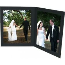 """New Double 7x5"""" Slip In Photo Folder Photo Cards Photo Mounts pack of 10"""